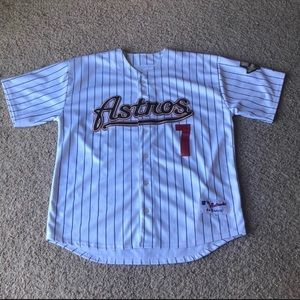 Other - Huston Astro's Craig Biggio home white jersey.